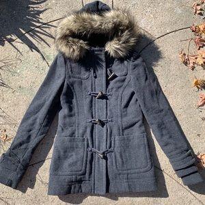 Jackets & Blazers - Toggle button wool Coat